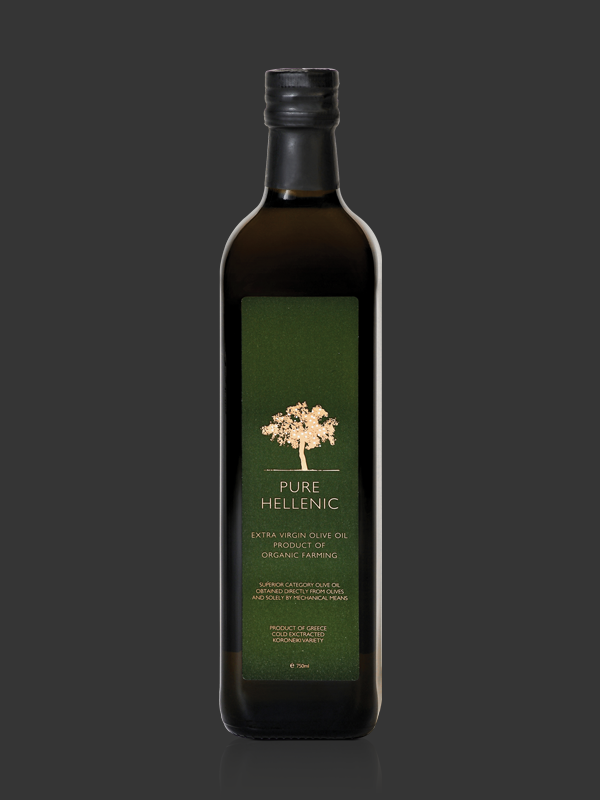 PURE HELLENIC Organic Olive Oil