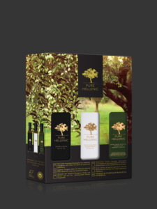 PURE HELLENIC OLIVE OIL GIFT BOX 3x250ml