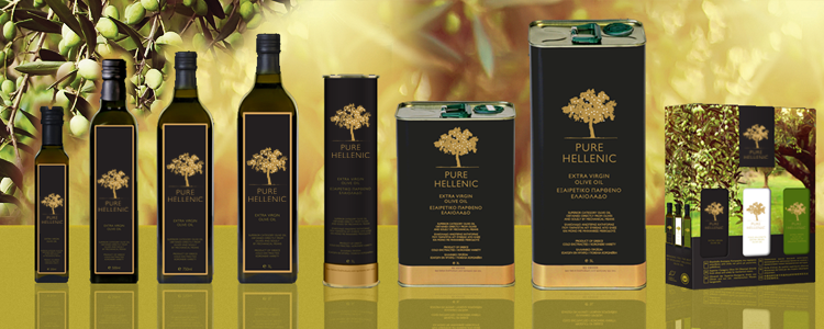 Pure Hellenic Extra Virgin Olive Oil full of purity, flavor, freshness and wholesomeness