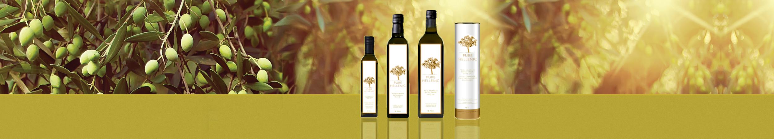 P.D.O Kalamata Extra Virgin Olive Oil
